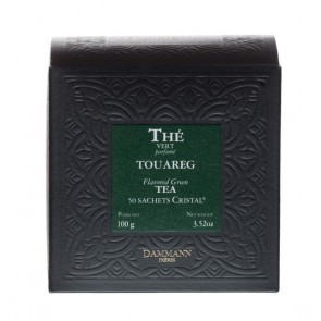 Dammann Frères groene thee Touareg Munt (crystal teabags)