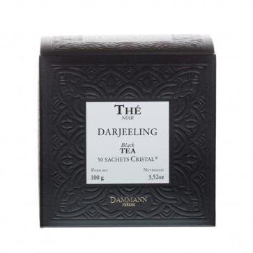 Dammann Frères zwarte thee darjeeling GFOP (crystal teabags)