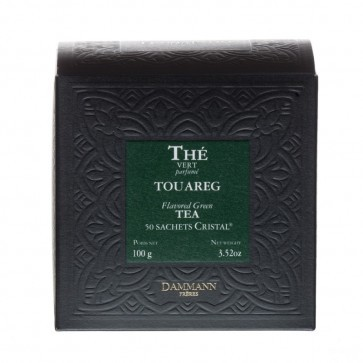 Dammann Frères groene thee Touareg Munt (crystal teabags)