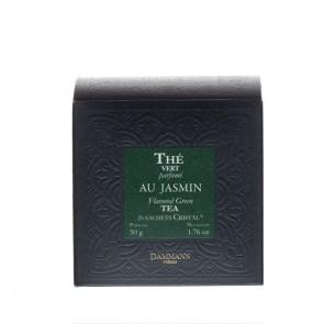 Dammann Frères groene thee jasmijn / au jasmin (crystal teabags)