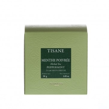 Dammann Frères kruidenthee munt / menthe (crystal teabags)