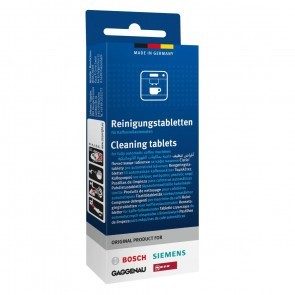 Bosch Reinigingstabletten Reinigen TCZ6001 - TZ60001 - TCZ8001 - TZ80001
