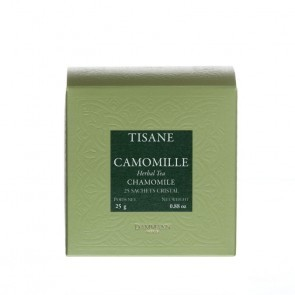 Dammann Frères kruidenthee kamille / camomille (crystal teabags)